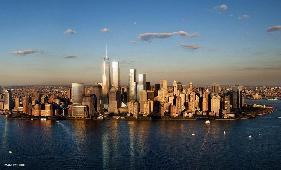 big设计的纽约世贸大楼|world trade center nyc | big