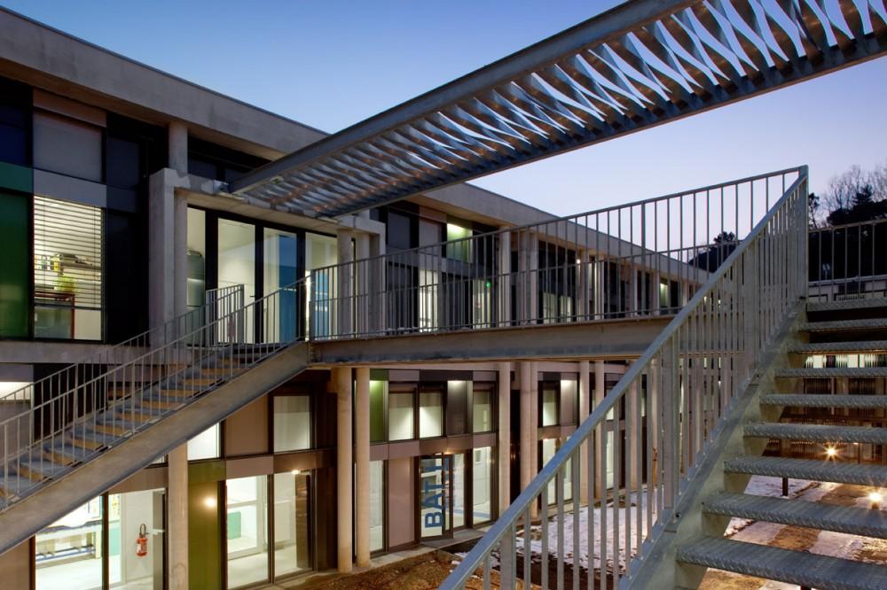 法国爱因斯坦学校 albert einstein school nb architectes N+B