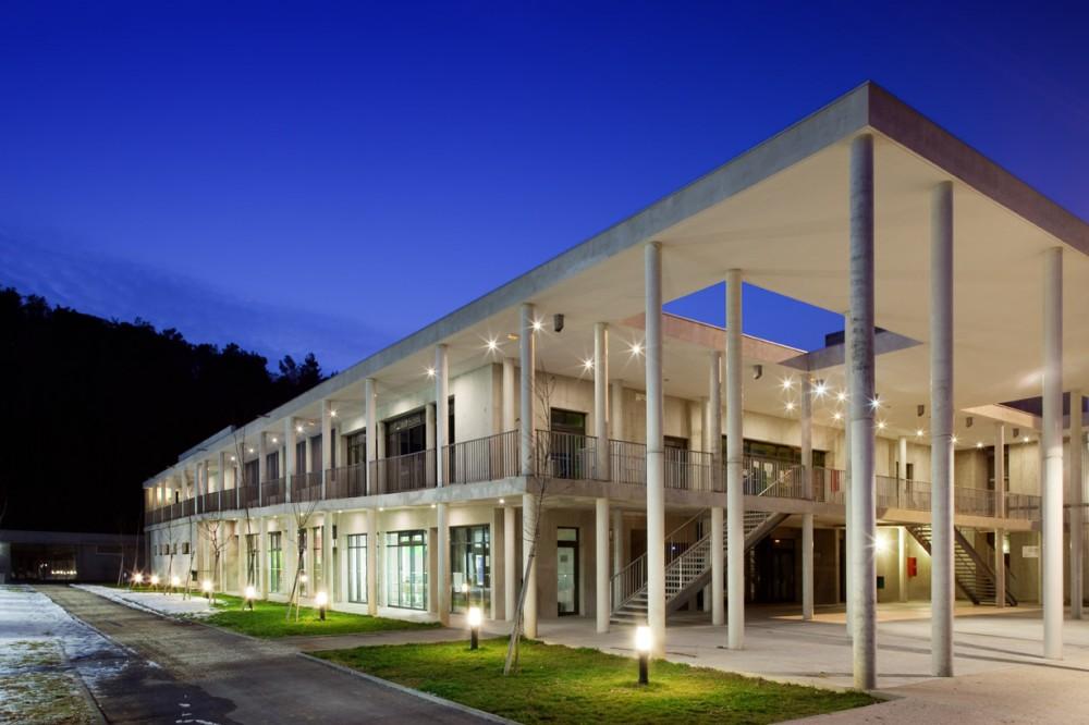 法国爱因斯坦学校 albert einstein school nb architectes N+B (1)