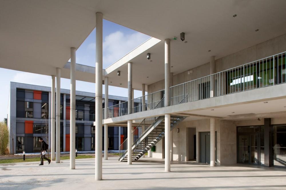 法国爱因斯坦学校 albert einstein school nb architectes N+B (4)