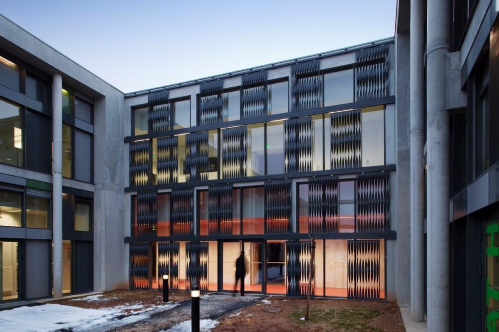 法国爱因斯坦学校 albert einstein school nb architectes N+B (5)