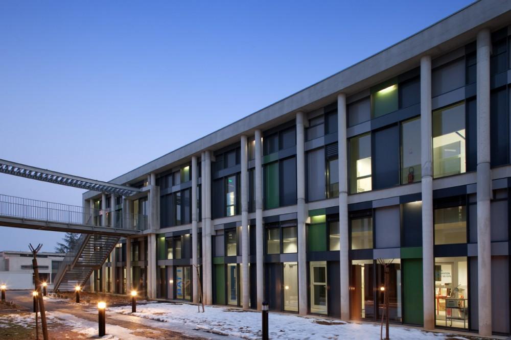 法国爱因斯坦学校 albert einstein school nb architectes N+B (6)
