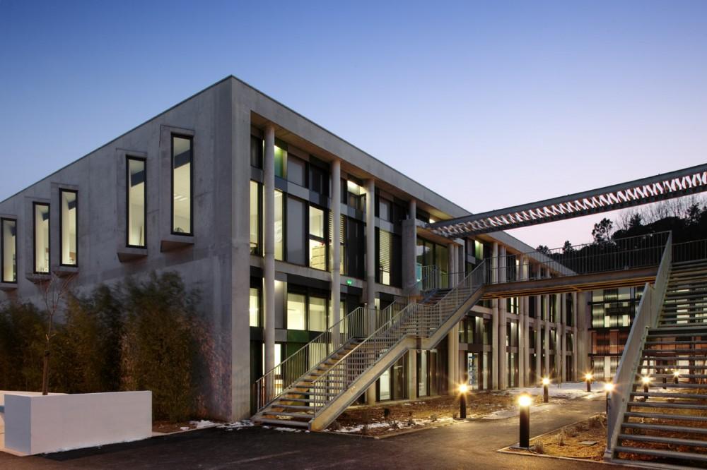 法国爱因斯坦学校 albert einstein school nb architectes N+B (8)
