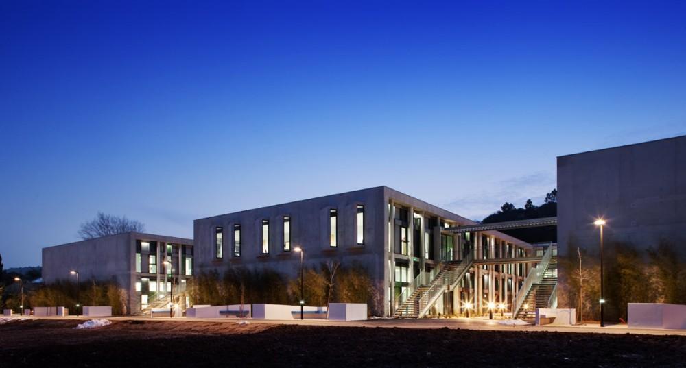 法国爱因斯坦学校 albert einstein school nb architectes N+B (11)