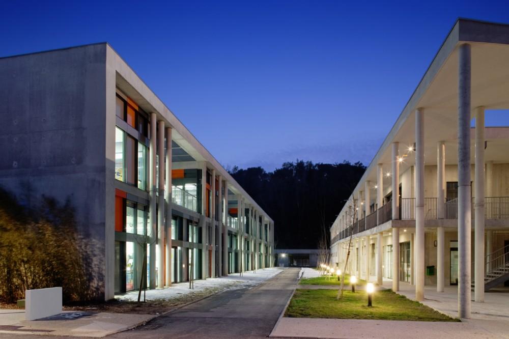 法国爱因斯坦学校 albert einstein school nb architectes N+B (12)