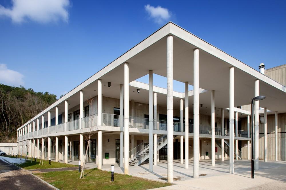 法国爱因斯坦学校 albert einstein school nb architectes N+B (17)