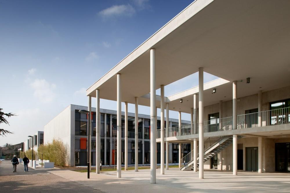 法国爱因斯坦学校 albert einstein school nb architectes N+B (18)