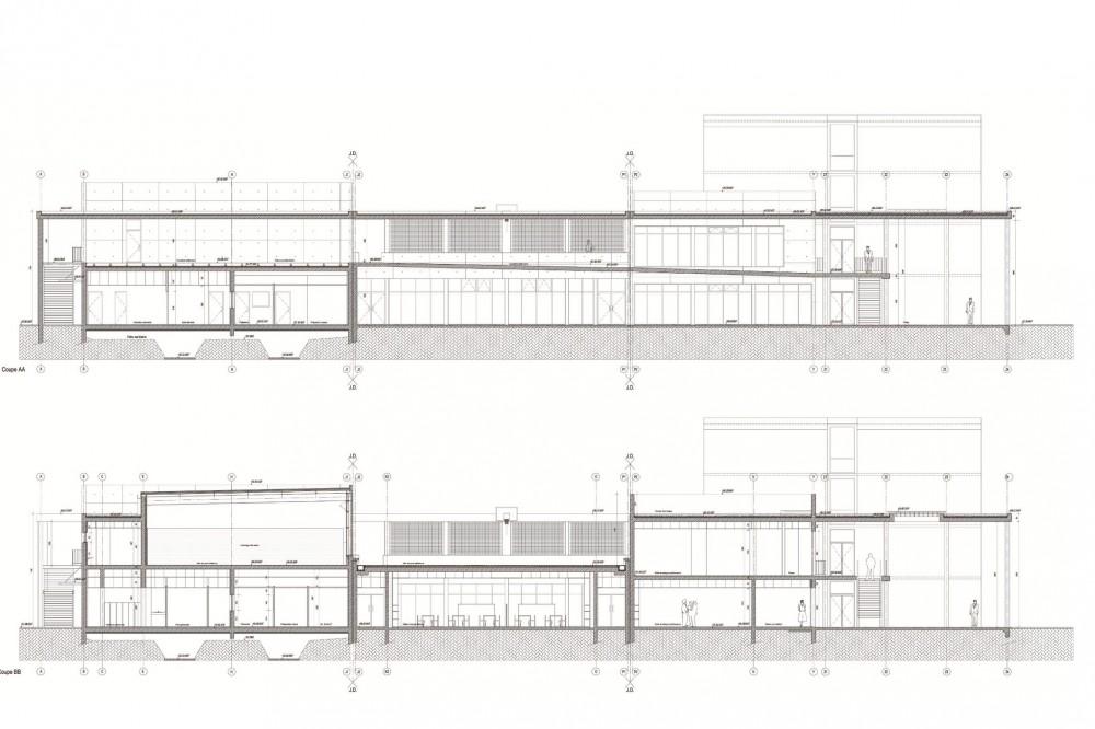 法国爱因斯坦学校 albert einstein school nb architectes N+B (22)