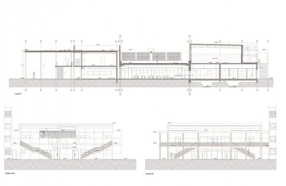 法国爱因斯坦学校 albert einstein school nb architectes N+B (23)