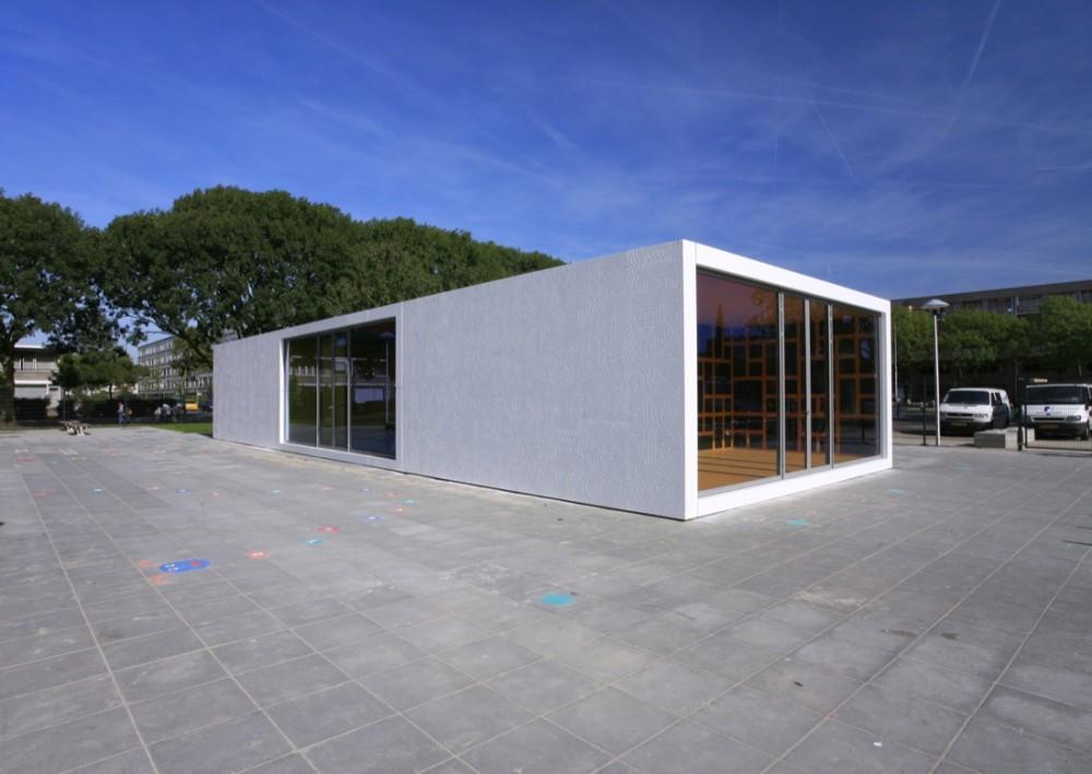 荷兰乌德勒支游乐场设施Mulders vandenBerk Architecten建筑师事务所