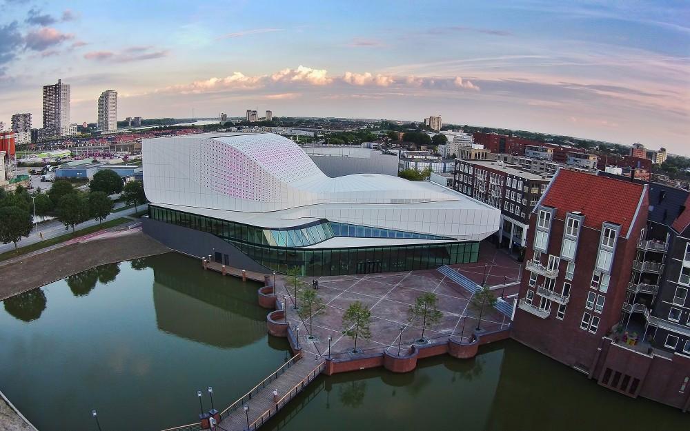 荷兰Stoep剧院theatre de stoepUNStudio (15)