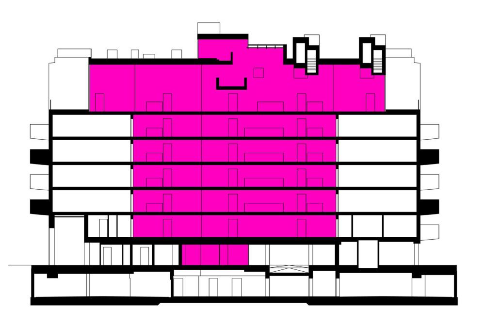 奥地利维也纳Wohnen Mit Scharf住宅楼 (1)