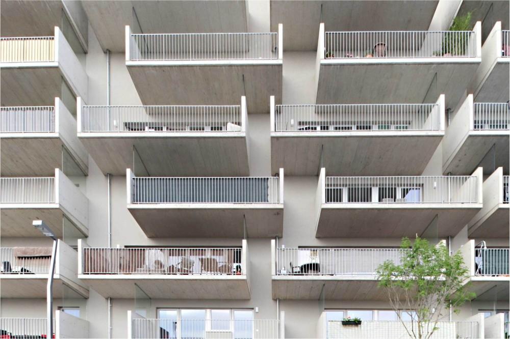 奥地利维也纳Wohnen Mit Scharf住宅楼 (3)
