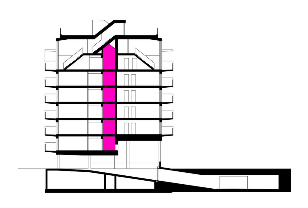 奥地利维也纳Wohnen Mit Scharf住宅楼 (6)