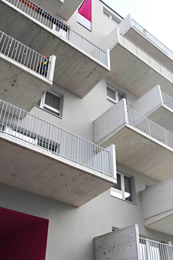 奥地利维也纳Wohnen Mit Scharf住宅楼 (9)
