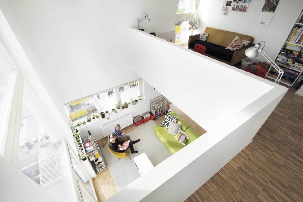 奥地利维也纳Wohnen Mit Scharf住宅楼 (10)