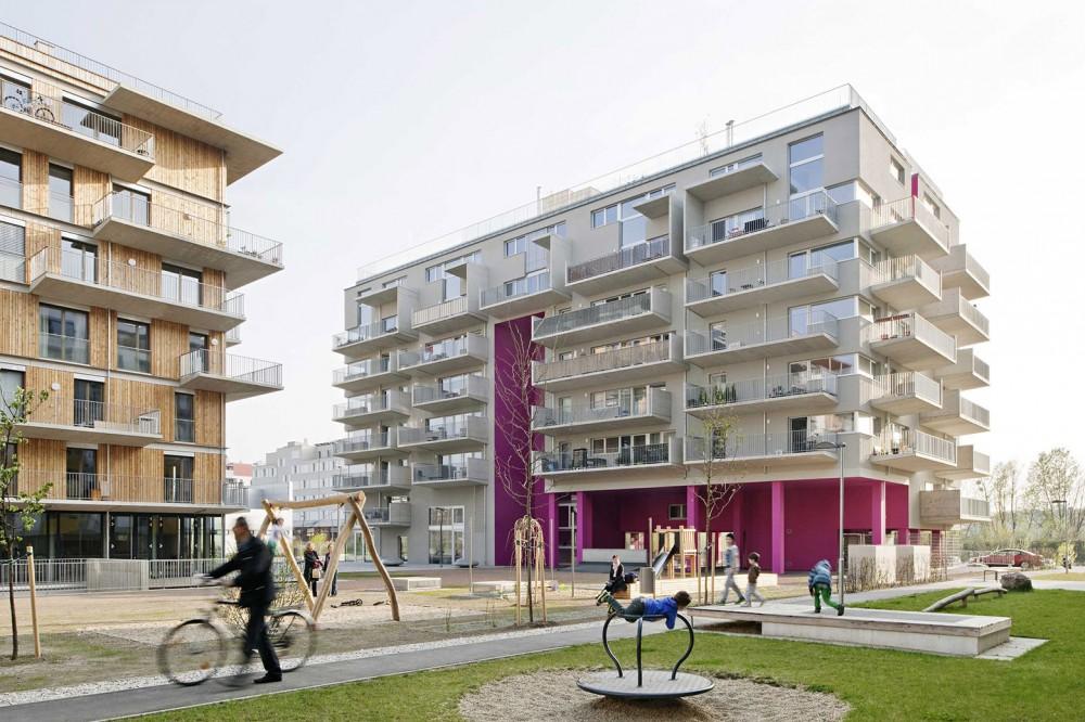 奥地利维也纳Wohnen Mit Scharf住宅楼 (11)