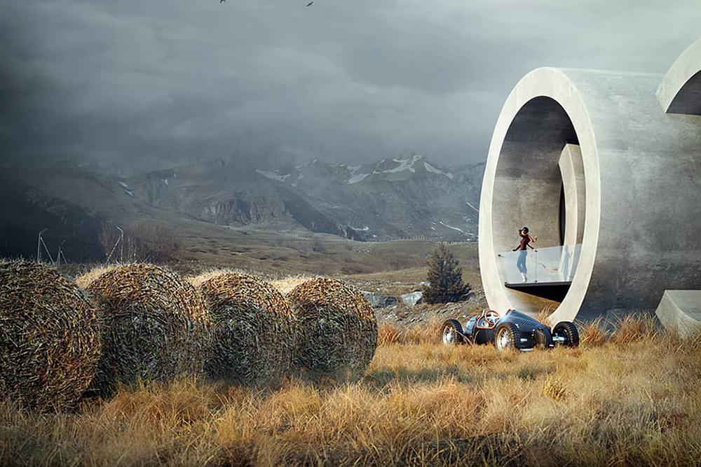 波兰建筑设计师Karina Wiciak将品牌logo变身为时尚住宅